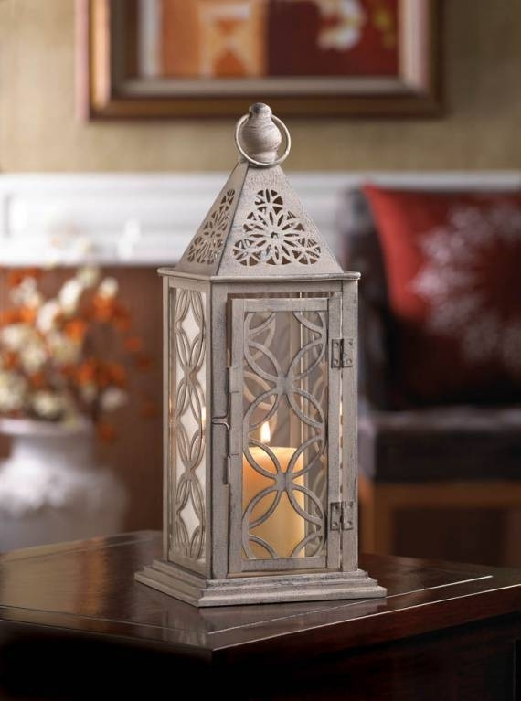 10015410  Gallery of Light Cutout Eclipse Candle Lantern