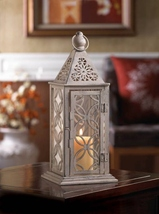 10015410  Gallery of Light Cutout Eclipse Candle Lantern - $22.65