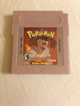 Pokemon Brown Fan Made Nintendo Game Boy Game. Saves! 2014 Version - $14.99