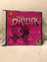 Ms Driller Custom Sega Dreamcast Game. Free Shipping! - $12.99