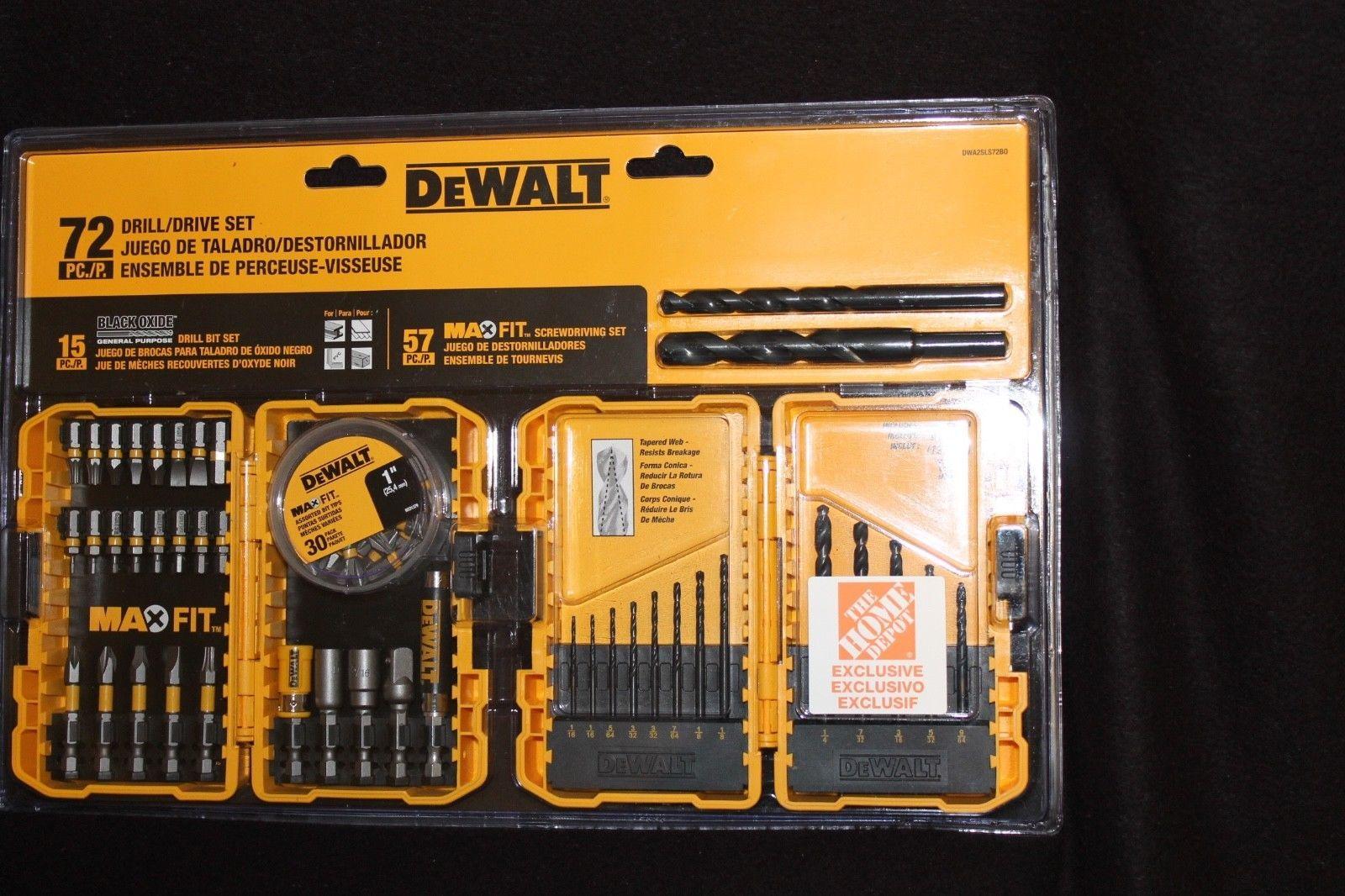 DeWalt - MaxFit Drill/Drive Set (72-Piece) and 50 similar items