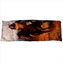dakimakura body hugging pillow case indian horse - $36.00