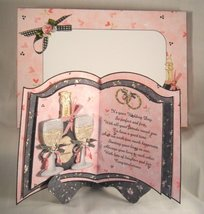 Handmade Greeting Card/Keepsake - It's Your Wedding Day Card/Keepsake - $12.95