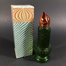 Vintage Avon Christmas Candle Perfume Bottle Sweet Honesty Cologne NEW 9... - $10.35