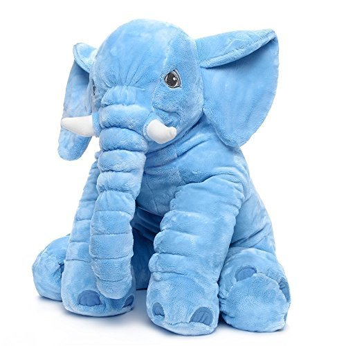 Rainbow Fox Grey Elephant Stuffed Animals Plush Toy Animals Toys Blue