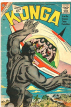 KONGA Vol. 1 #7 Stunning Steve Ditko whole comic CHARLTON Comics 1962 - $38.35