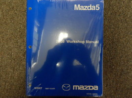 2008 Mazda5 Mazda 5 Service Repair Shop Workshop Manual Factory Oem New - $92.77