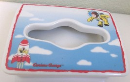 Curious George Astronaut Ceramic Small Tissue Box Cover - $23.74