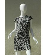 Micheal Kors Dress Geometric Print Dress Made in Italy 6 - $93.25