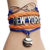 MLB Infinity Love Charm Bracelet image 1