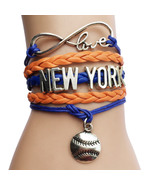 MLB Infinity Love Charm Bracelet - $6.99