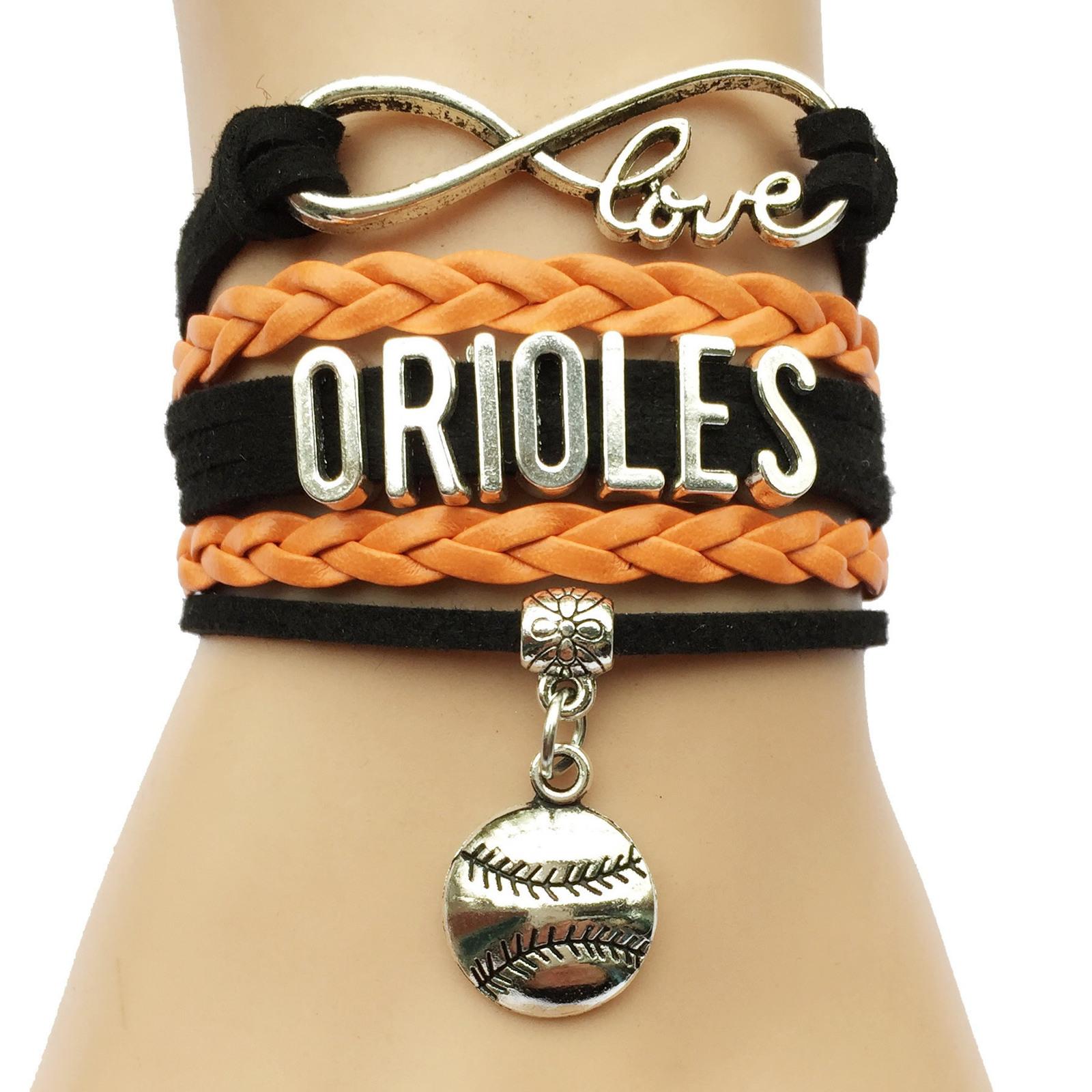 MLB Infinity Love Charm Bracelet image 4