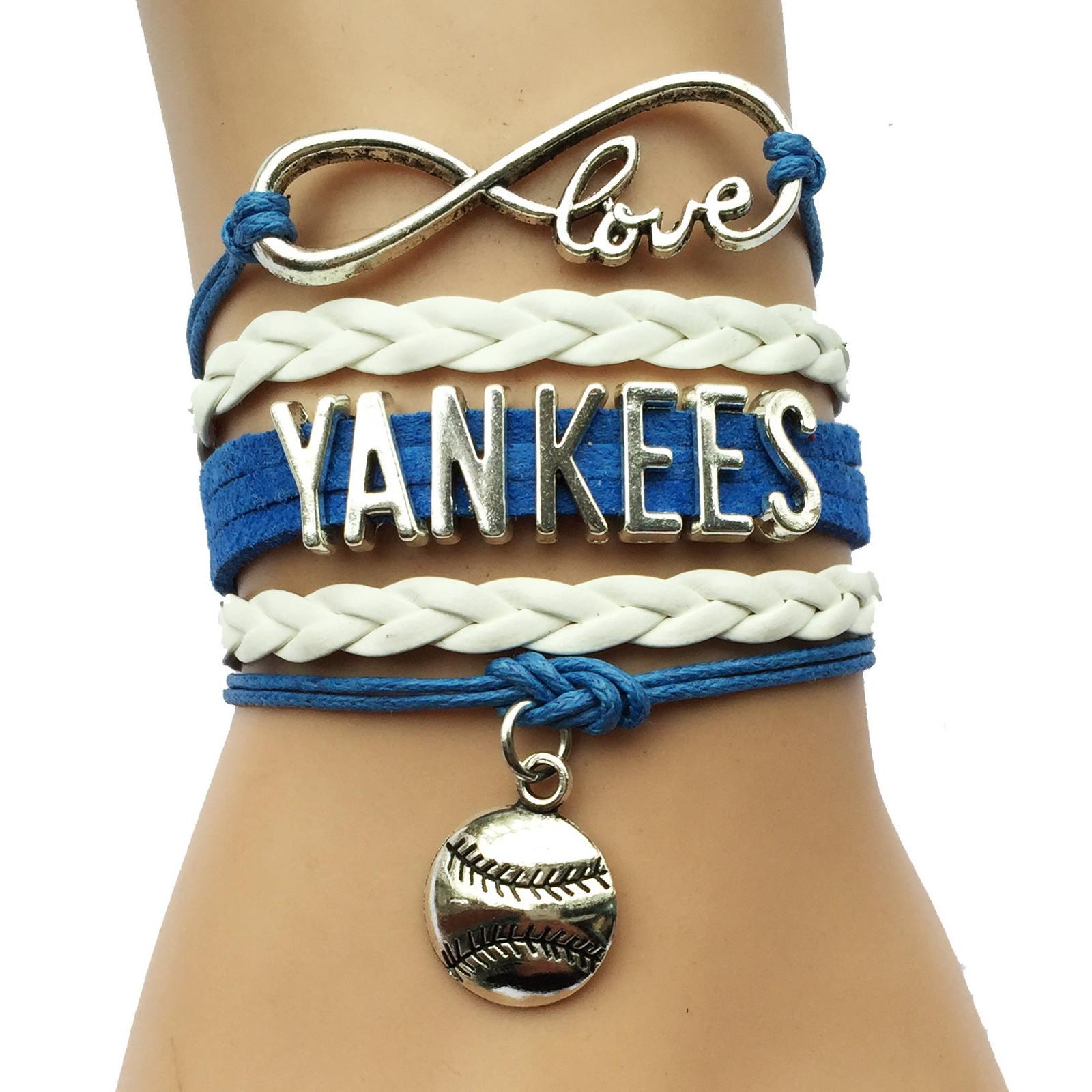 MLB Infinity Love Charm Bracelet image 6