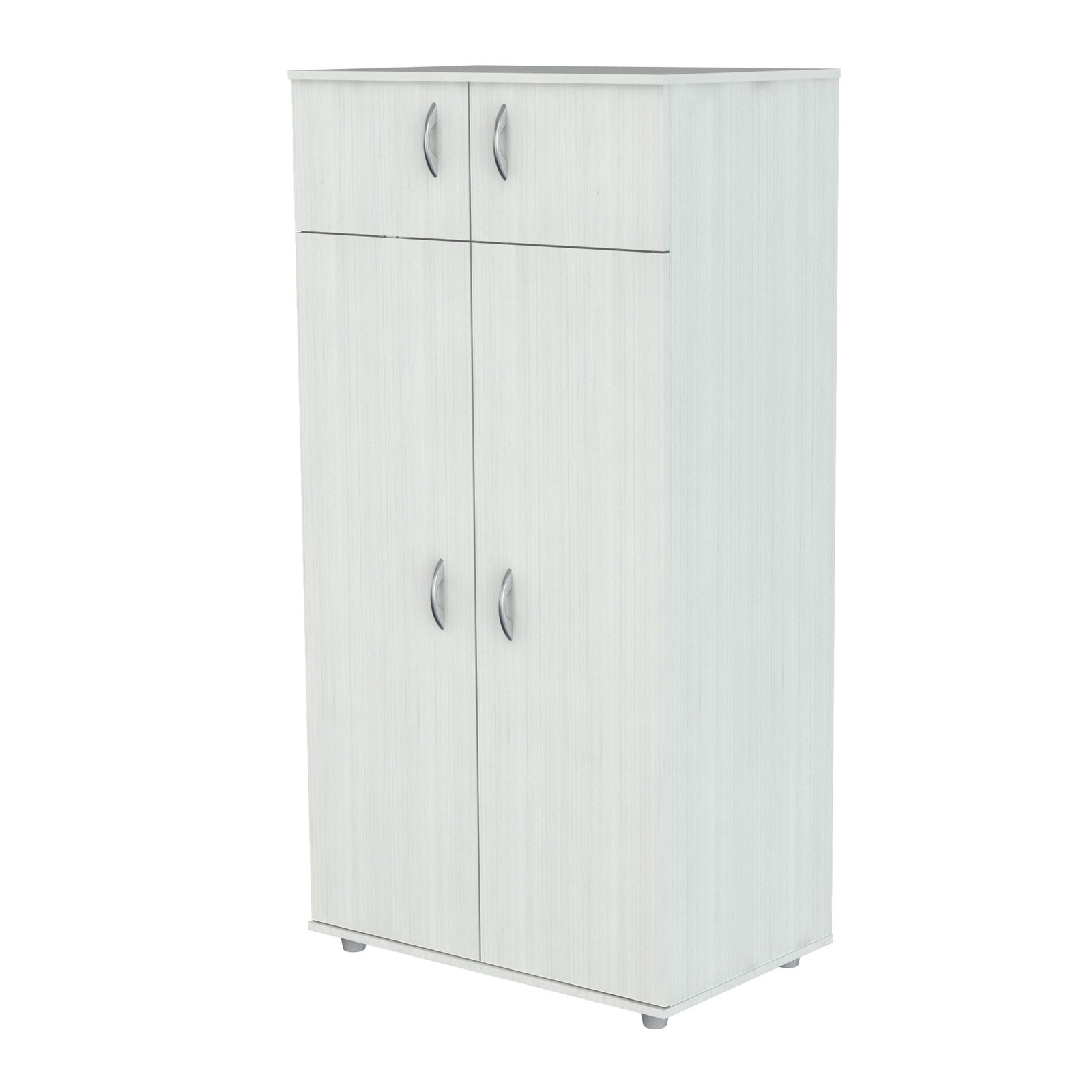 Wardrobe Cabinet 32 Inch Wide Double Door Storage Cabinet ...
