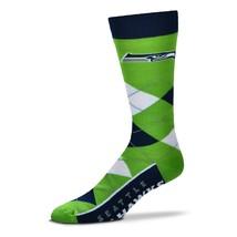 NFL Seattle Seahawks Argyle Unisex Crew Cut Socks - One Size Fits Most - $9.95