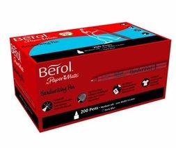 Berol Handwriting Pen - Dark Blue (Pack of 200) - €230,00 EUR