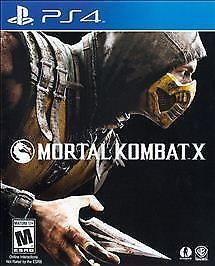 Mortal Kombat X (Sony PlayStation 4, 2015) Video Game