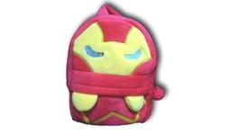 Marvel Ironman Soft Furry Plush School HandBag Backpack Bag Travel Bag - $13.99