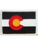 Colorado State Flag Tactical Military Iron On Patch Shoulder Emblem #5693 - $4.29