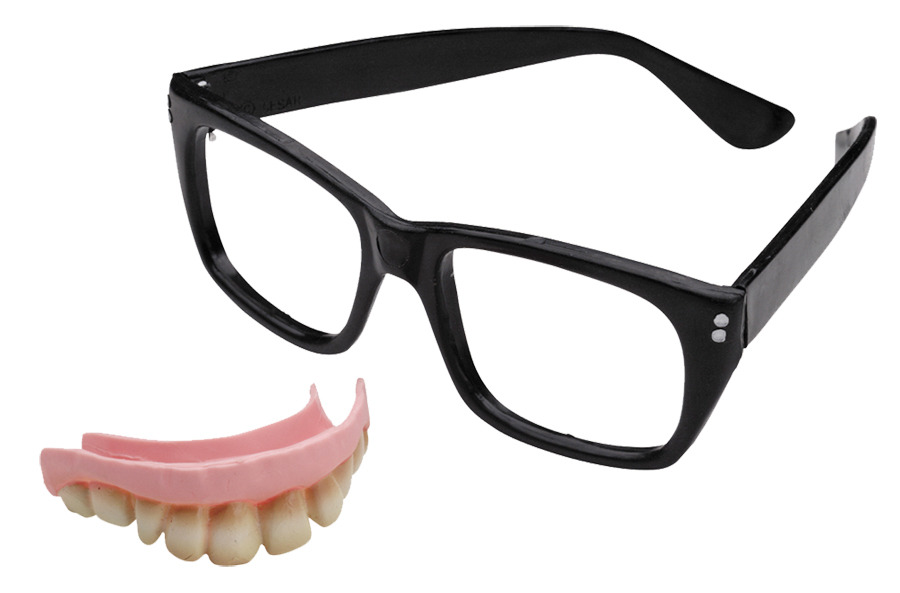 MASQUERADE AUSTIN POWERS TEETH/GLASSES HALLOWEEN COSTUME