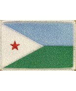Republic of Djibouti Flag Patch With Velcro MC Biker Military Tactical M... - $6.29