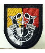 3rd Special Forces Group Flash with Crest SFG Military Iron On Patch - $4.29
