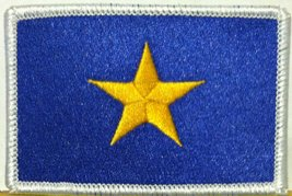 The Burnet Flag (1836 1839) Republic Of Texas Flag Embroidered With Velcro Pa... - $6.49