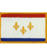 NEW ORLEANS Flag Iron-On Patch Embroidered Tactical Morale Patch EMBLEM ... - $4.29