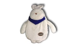 Snowy White & Blue Rabbit Cosplay Furry Soft Plush hot water warming bottle bag - $10.00