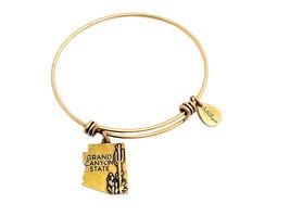 State of Arizona Charm Bangle Bracelet
