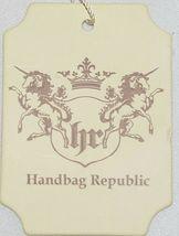 Handbag Republic Brand HG0024 Red Vegan Womens Purse With Large Tassel Detail image 8