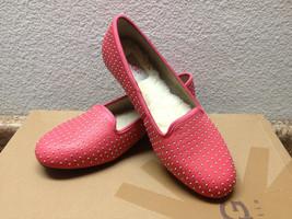 Ugg Alloway Studded Flamingo Pink Shoe Mocc ASIN Us 7 / Eu 38 / Uk 5.5 - $79.48
