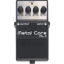 BOSS ML-2 Metal Core BRAND NEW Distortion Guitar Effect Pedal w/ FREE PICK - $111.14
