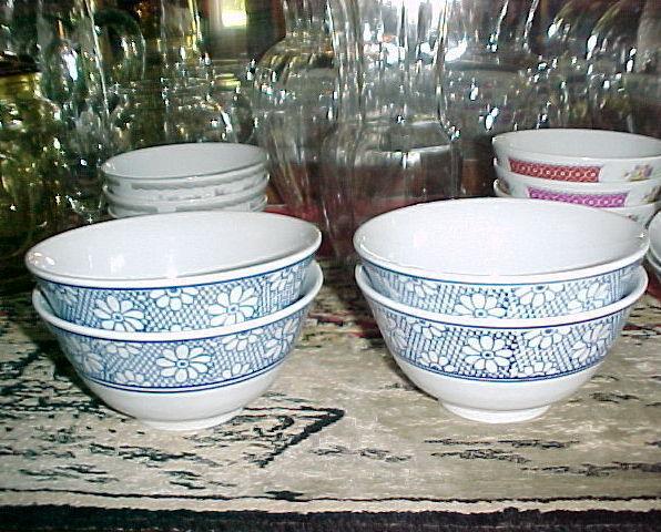 Pier 1 rice bowls 4 blue best