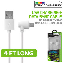 For LG G5 USB Type C 90 Degree Right Angle USB Data Charge and Sync Cable - $9.95