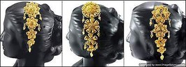 Hair Clip Head Jewelry Beautiful Ethnic Indian ... - $11.70
