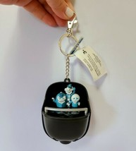 Disney Parks Haunted Mansion Doom Buggy Light Up Keychain Hitchhiking Ghosts - $29.99