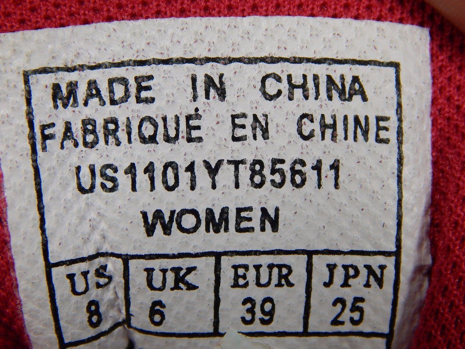 Avia Zo2 Women's Running Shoes Size US 8 M (B) EU 39 White Gray Pink