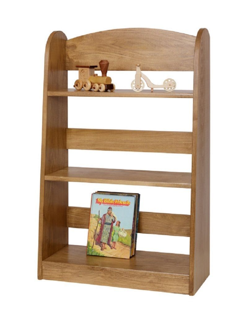 Children s bookshelf amish handmade poplar wood furniture