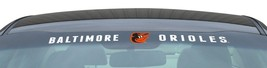 "BALTIMORE ORIOLES 35"" X 4"" WINDSHIELD WINDOW DECAL CAR TRUCK MLB BASEBALL - $21.40"