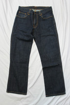 Nudie Jeans Slim Jim NJ2825 DRY NAVY ORGANIC W31 L28 Organic Cotton HEMMED - $55.98