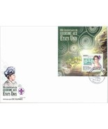 GUINEA GUINEE 2012 GIRL GUIDES SCOUTING STAMP ON STAMP FDC 15731-A3 - ₨1,628.23 INR