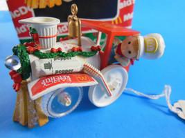 """Enesco Treasury Ornament McDonald's Merry Mc-Choo-Choo 2.5"""" Mint in box - $17.32"""