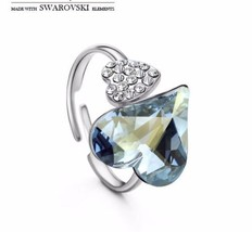 Made with Swarovski Elements Crystal Rings Promise Rings Rings for Women - $74.23