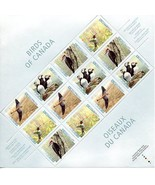 Canada Stamps - Full Pane of 12 - Birds of Canada #1591-1594 MNH - $6.79