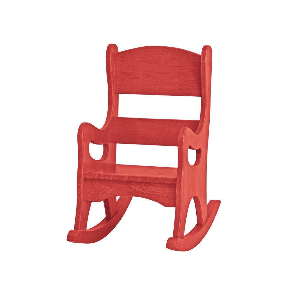 Child Red Rocking Chair ~ Children s rocking chair amish handmade maple wood