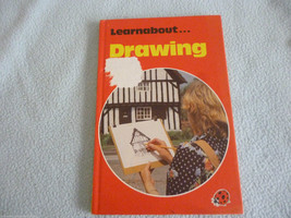 Vintage 1980 Lady Bird Book Learn About Drawing  series 634 - $7.75