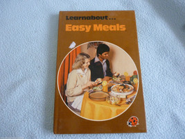 Vintage 1979 Lady Bird Book Learn About  Easy Meals - $7.75