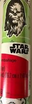 American Greetings STAR WARS Christmas Gift Wrap - 20 Square Feet - #W15-20894 - $10.71