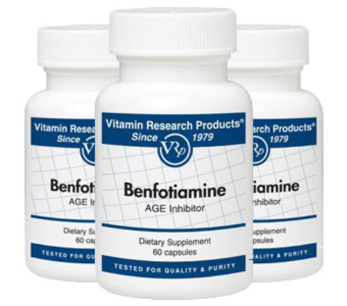 Benfotiamine 150mg - A.G.E. Inhibitor (B1) by Vitamin Research Products